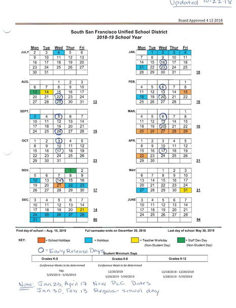 2018-2019 Instructional Calendar w_Early Release Dates REVISED-1.jpg